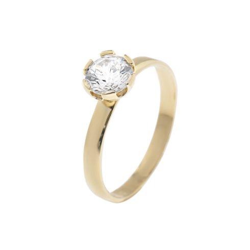 14K Arany Gyűrű (Au58588) Méret: 54