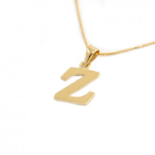 Arany Z-betűs medál (Au586027)