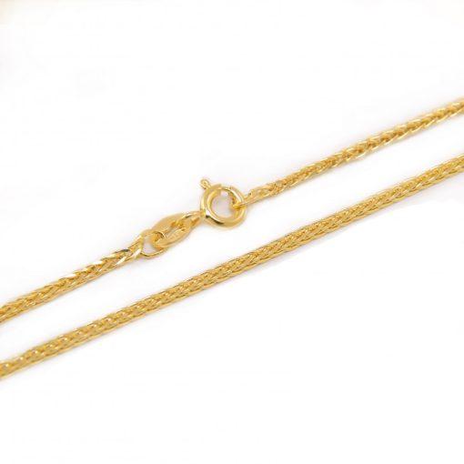 Arany Nyaklánc (Au588001) Méret: 45 cm