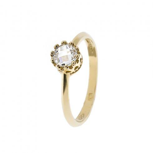 14K Arany Gyűrű (Au58982) Méret: 54