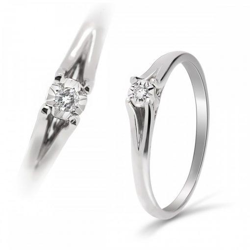 Arany Gyűrű BRILLEL (Au593006) Méret: 54