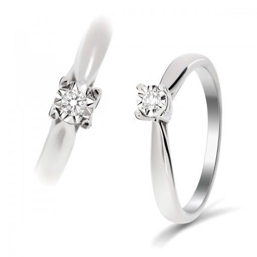 Arany Gyűrű BRILLEL (Au59714) Méret: 54