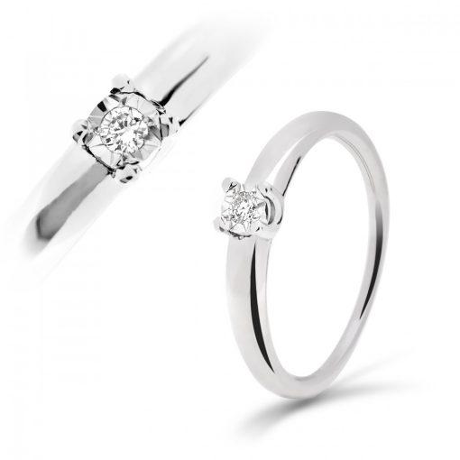 Arany Gyűrű BRILLEL (Au59718) Méret: 54