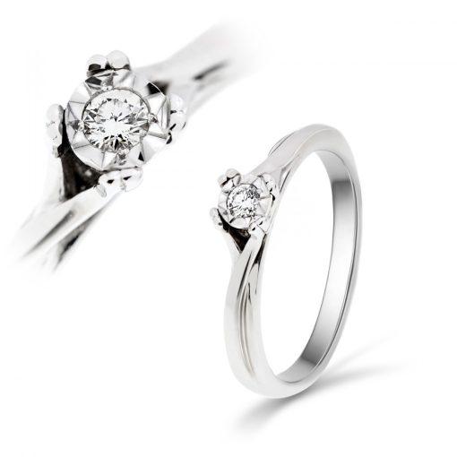 Arany Gyűrű BRILLEL (Au59722) Méret: 54