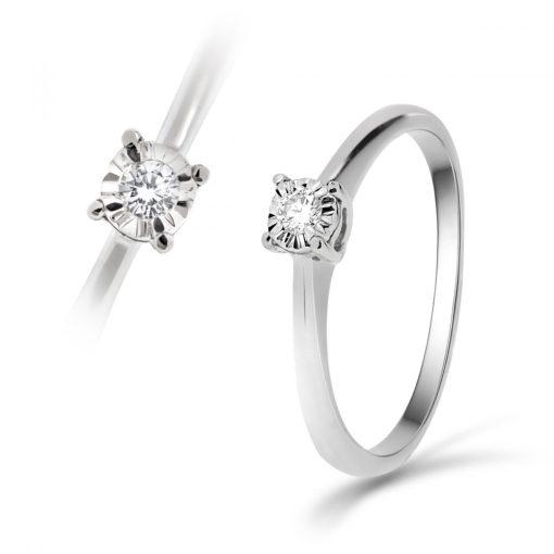 Arany Gyűrű BRILLEL (Au59725) Méret: 54