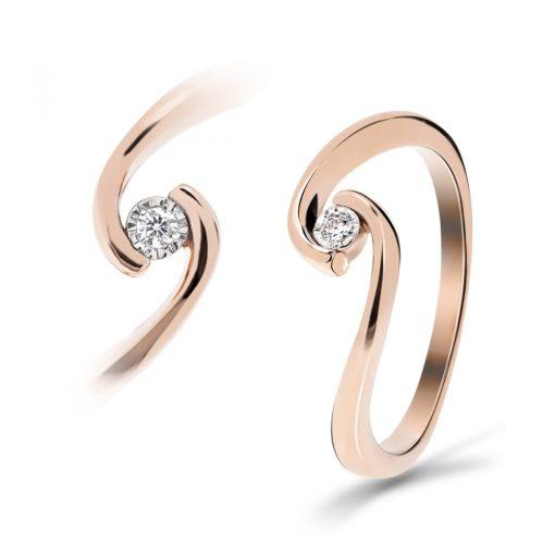 Arany Gyűrű BRILLEL (Au59729) Méret: 54