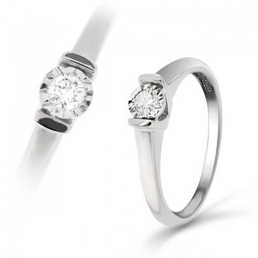 Arany Gyűrű BRILLEL (Au59733) Méret: 54