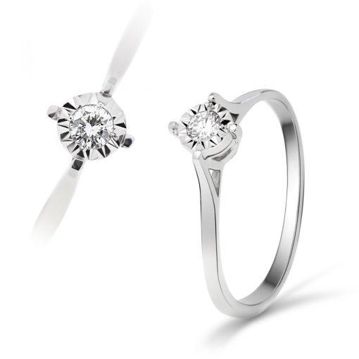 Arany Gyűrű BRILLEL (Au59743) Méret: 54