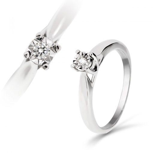 Arany Gyűrű BRILLEL (Au59746) Méret: 54