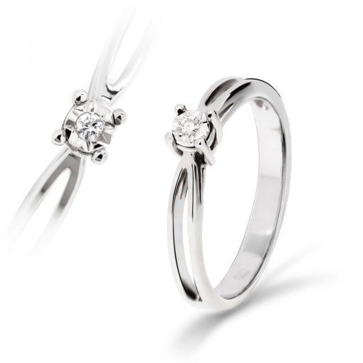 Arany Gyűrű BRILLEL (Au59750) Méret: 54