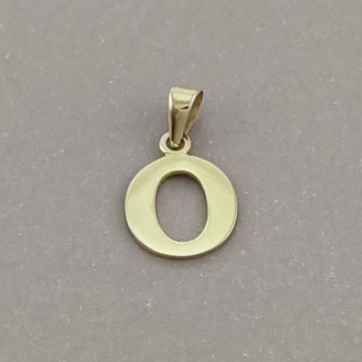 Arany O-betűs medál (Au601026)