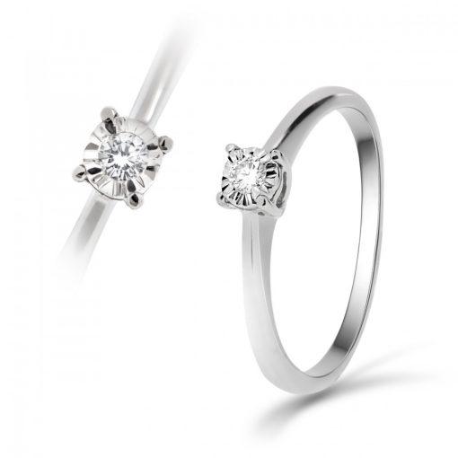 Arany Gyűrű BRILLEL (Au60461) Méret: 54