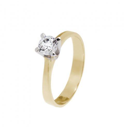 14K Arany Gyűrű (Au60527) Méret: 55,5