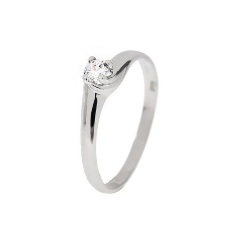 14K Arany Gyűrű (Au60584) Méret: 54,5
