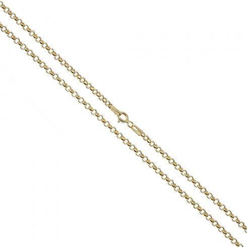 14K Arany Nyaklánc (Au60856) Méret: 40,5 cm