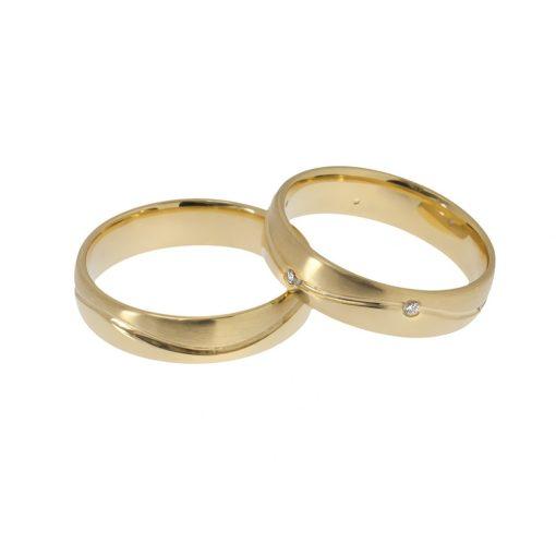 Arany Ébredés modell - 9K Arany Karikagyűrű (Au61002) Méret: 54