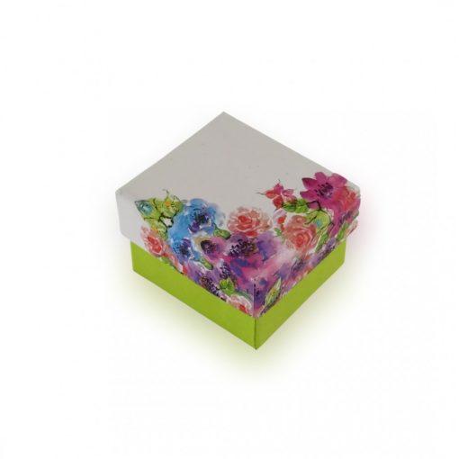 Virág ékszerdoboz