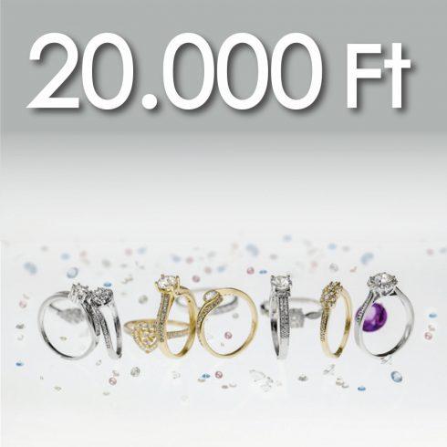 Online Vásárlási Kupon - 20.000 Ft