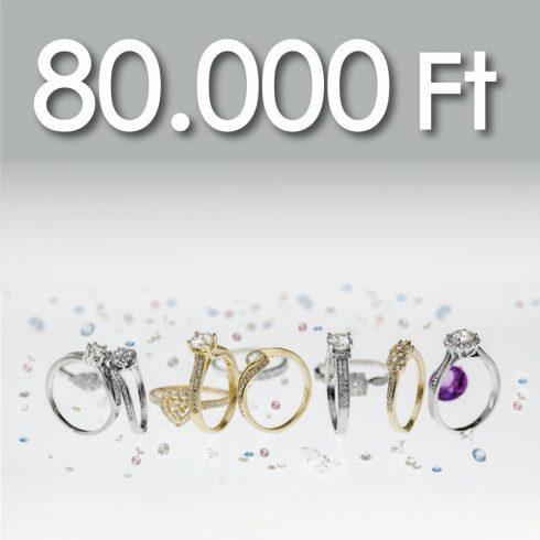 Online Vásárlási Kupon - 80.000 Ft