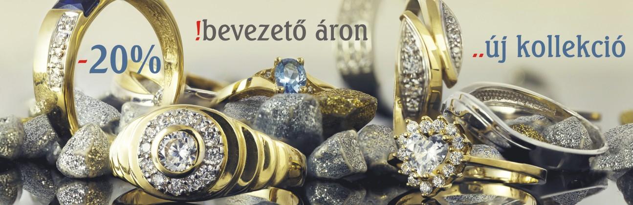 Akciós arany gyűrűk