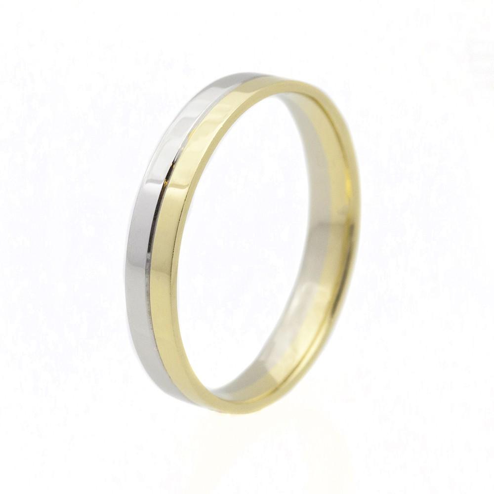 Szivárvány modell - 14K arany Karikagyűrű (Au529037) - méret: 60