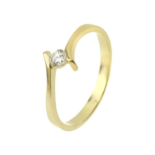 Csillagfürt modell - 14K arany Gyűrű (Au59429) - méret: 51,5
