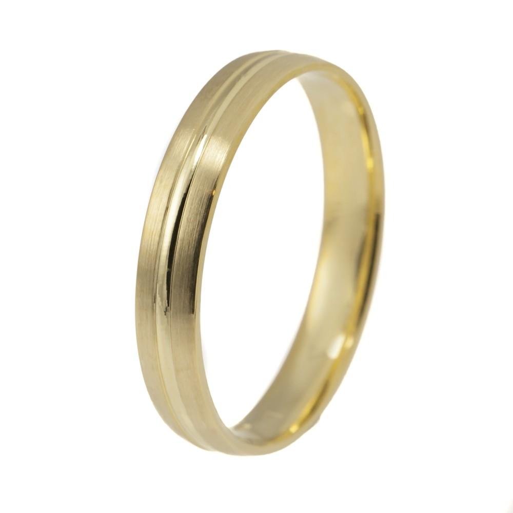 Tökéletes Harmónia modell - 9K arany Karikagyűrű (Au592006) - méret: 65