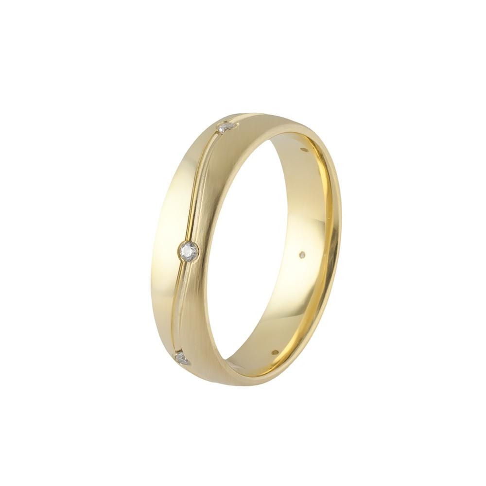 Arany Ébredés modell - 9K arany Karikagyűrű (Au61003) - méret: 54