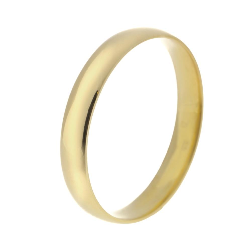 Klasszikus 3,5 mm modell - 9K arany Karikagyűrű (Au592004) - méret: 61