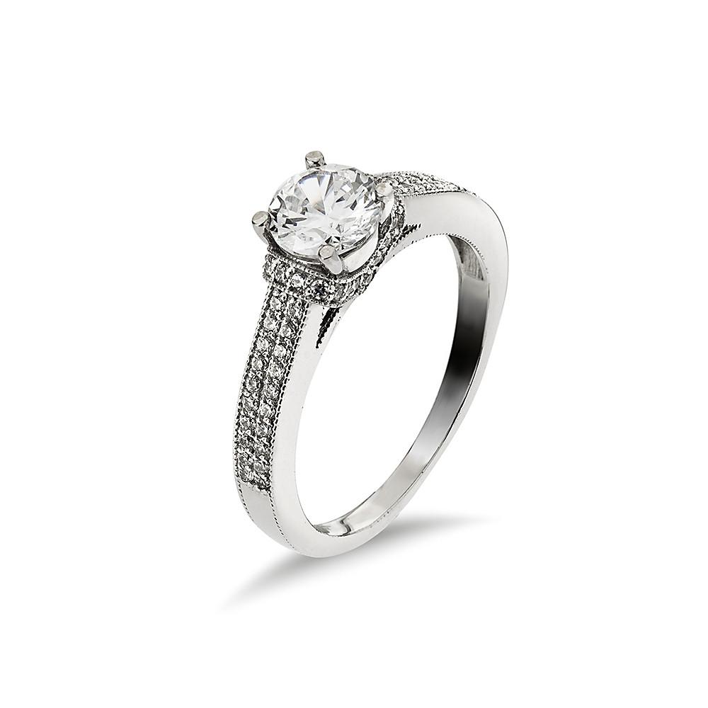 14K Arany Gyűrű (Au485006) Méret: 54