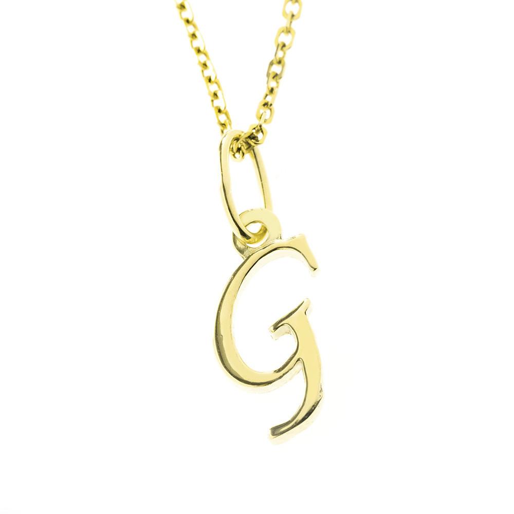 Arany G-betűs medál (Au512011)