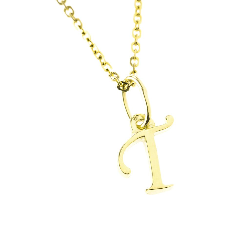 Arany T-betűs medál (Au512027)