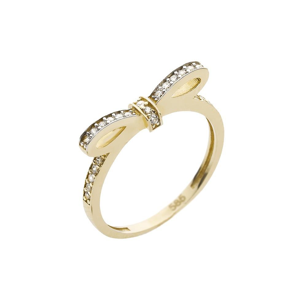 Arany Gyűrű (Au593007) Méret: 54